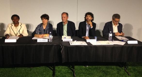 """""""Eroi del Calcio"""" con i rappresentanti del Parlamento sullo Ius Soli"""