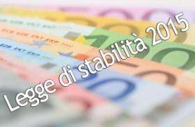 Gli emendamenti alla legge di stabilità