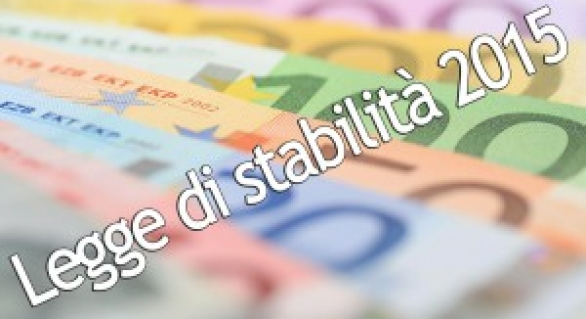 """""""ABC"""" DELLA LEGGE DI STABILITA' 2015"""