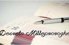 """Approvato il Decreto """"Milleproroghe"""""""