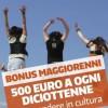 Interrogazione: Bonus Cultarae anche ai diciottenni stranieri